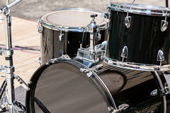Drum set on stage Royalty Free Stock Image