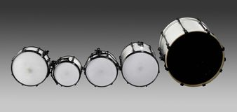 Drum set Royalty Free Stock Images
