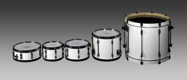 Drum set Royalty Free Stock Photo