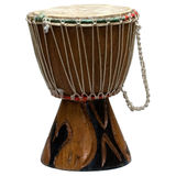 Drum from South Africa. A traditional hand mande drum from South Africa Royalty Free Stock Photos
