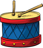 Drum with Sticks Stock Photo