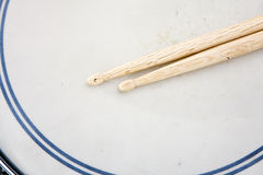 Drum Sticks Prepared For Playing Royalty Free Stock Images