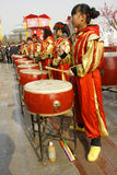 Drum Team Royalty Free Stock Image