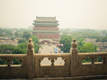 Drum Tower of Beijing Royalty Free Stock Image