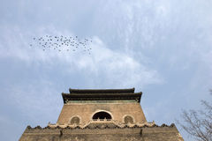 Drum tower, Beijing,china. Royalty Free Stock Image