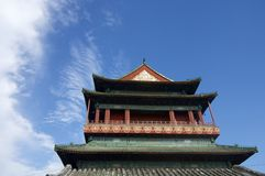 Drum Tower Royalty Free Stock Photo