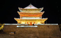 Drum tower of Xi'an Stock Photo