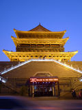 The drum tower in xian Royalty Free Stock Images
