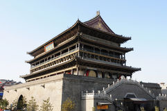 Drum Tower of Xian,China Royalty Free Stock Photo