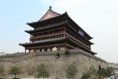 The Drum Tower of Xian Royalty Free Stock Image