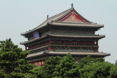 The Drum Tower of Xian Royalty Free Stock Photos