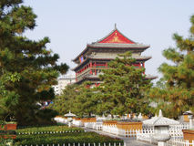 Drum Tower of Xian,China Royalty Free Stock Photos