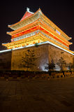 The Drum Tower in Xian Royalty Free Stock Photography