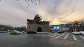 Drum Tower of Yinchuan royalty free stock photography