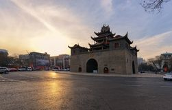 Drum Tower of Yinchuan royalty free stock image