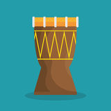Drum traditional music brazilian Royalty Free Stock Image
