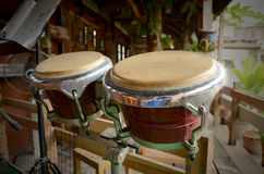 Drum twin Royalty Free Stock Photos