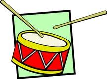 Drum vector illustration Stock Photos