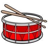 Drum stock illustration