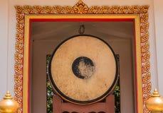 Drum at Wat Yai Chaimongkol Stock Images