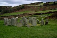 Drumbeg Circle nr Cork, Ireland. Ancient stone circle in Cork County, Ireland, Eire Royalty Free Stock Image