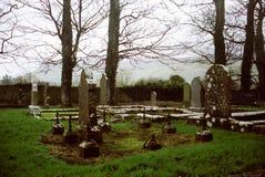 Drumcliffkerkhof, Ierland Stock Afbeeldingen