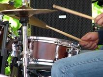 Drumer Fotografie Stock Libere da Diritti