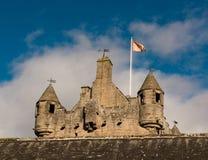 Drumh-Schloss Schottland lizenzfreies stockfoto