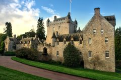 Drumh slott Skottland Arkivfoton