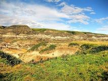 Drumheller Badlands Royaltyfri Foto