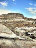 Drumheller Badlands Royaltyfri Fotografi