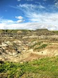 Drumheller Badlands Royalty Free Stock Photo