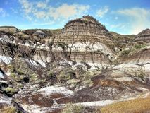 Drumheller Badlands Stock Image