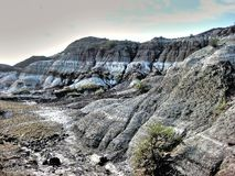 Drumheller Badlands Royalty Free Stock Photos