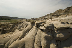 Drumheller Hoodoos Royalty Free Stock Photo