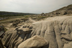 Drumheller Hoodoos Royalty Free Stock Photography