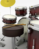 Drumkit Stock Photo