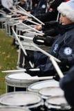 Drumline foto de archivo libre de regalías