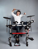 Drummer Royalty Free Stock Photos