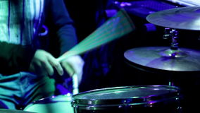 Drummer_2 stock footage