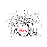 Drummer. Stock Image