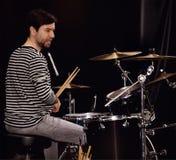 drummer Stock Afbeeldingen