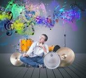 drummer imagens de stock royalty free