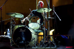 drummer Foto de Stock Royalty Free