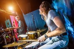 drummer imagem de stock