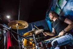drummer Fotografia Stock Libera da Diritti