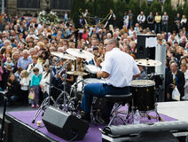 drummer fotografia de stock royalty free
