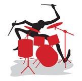 drummer Stock Foto's
