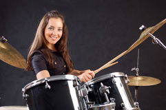 Drummer stock images