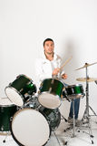 Drummer royalty free stock photos